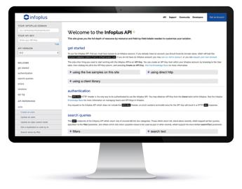 Infoplus API Page